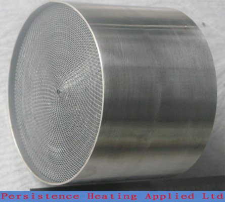 Metal honeycomb substrate