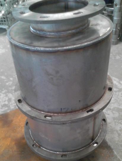 Metal Substrate with Flange